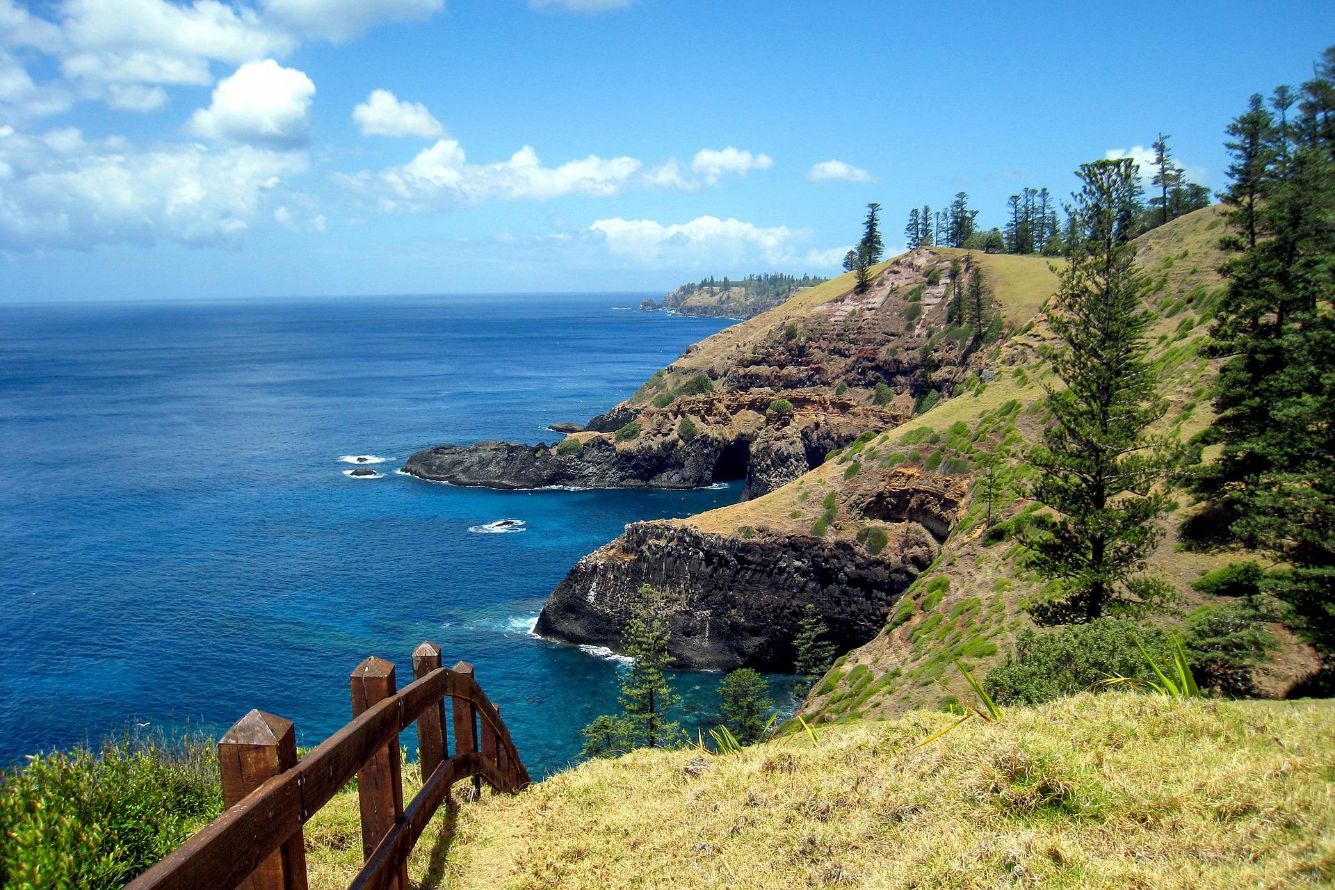 Norfolk Island Australia coast