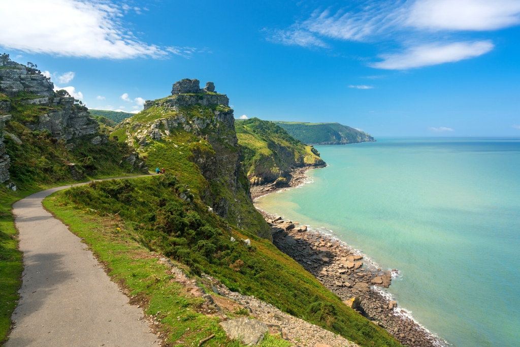 walk the south west coast path in devon