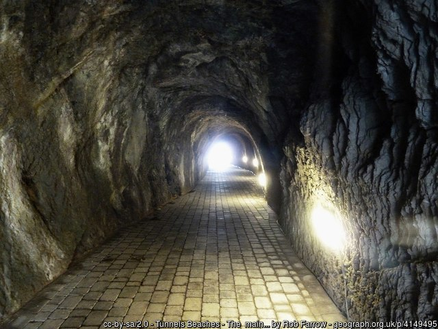 visit tunnels beaches ilfracombe