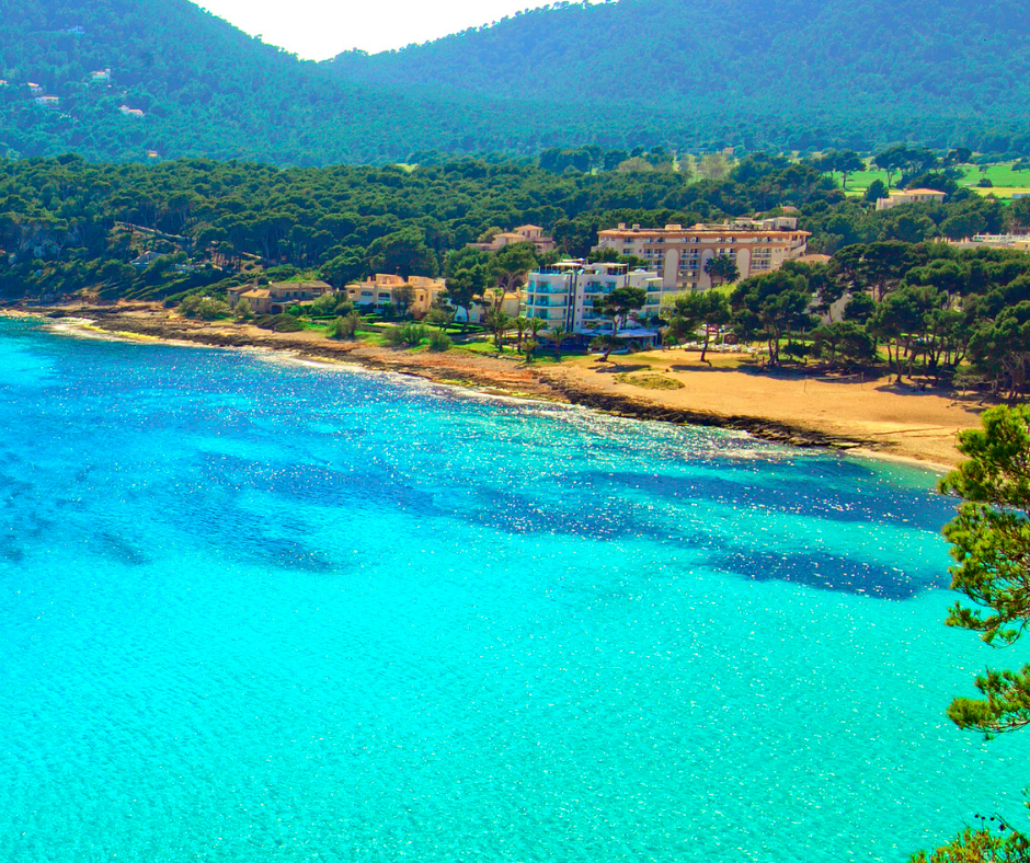 Canyamel beach Mallorca, North-East Mallorca Platja de Canymel